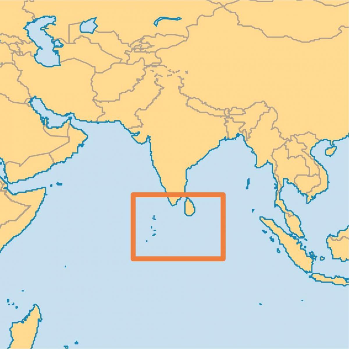 Maailman Kartta Malediivit Malediivit Island Sijainti Maailman