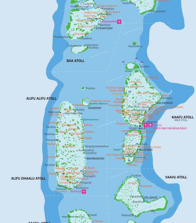 Malediivit Lentokentta Kartta Zimbabwe Lentokentat Kartalla Etela
